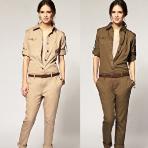 Military Fashion Trend 2021 Spring Summer Style Jackets Boots Dresses