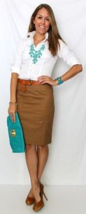 What Color Shirt to Wear with Turquoise Jewelry Necklace