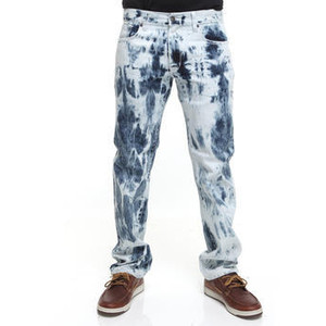 Indigo Cotton Jeans