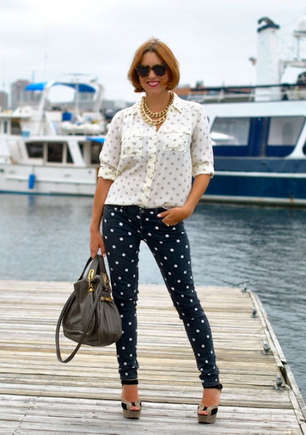 Monochromatic Shaded Pants