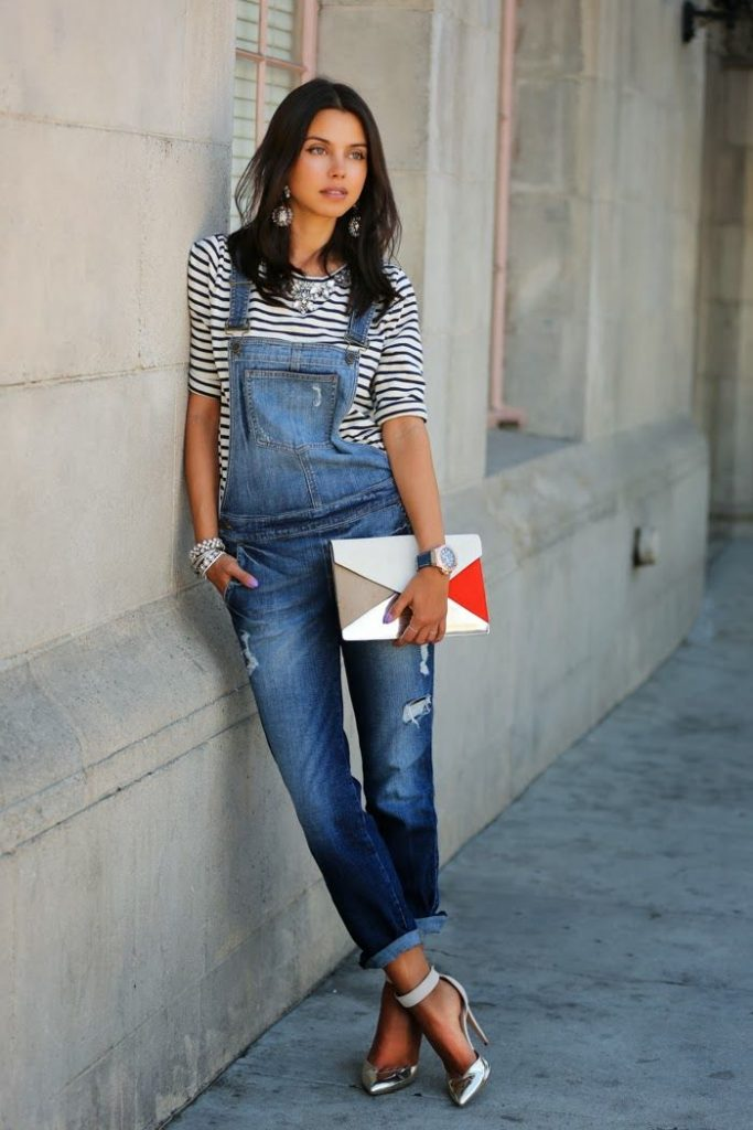 Overalls outfit