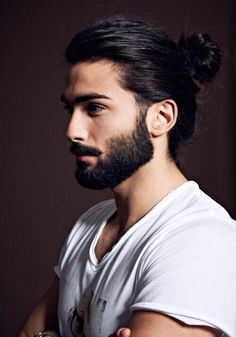 men long hairstyle