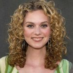permed curly hair