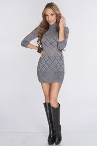 How to Wear Sweater Dresses Stylishly Are Sweater Dresses in Style 2021