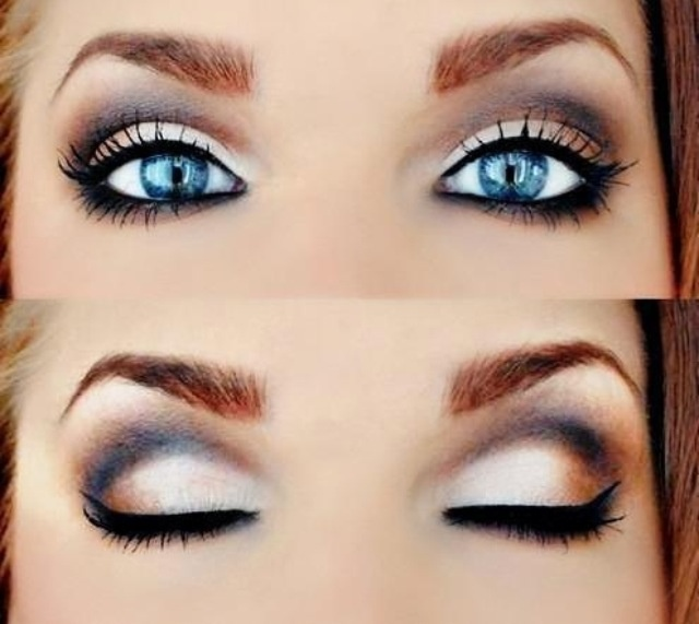 How to Do a Smokey Eye for Blue Eyes Step by Step with Pictures