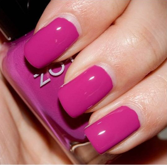 Expertise Says That The Lighter Shades Of Pink Make Fingers Longer And Slimmer Bright Nail Color Increases Beauty Whole Hand