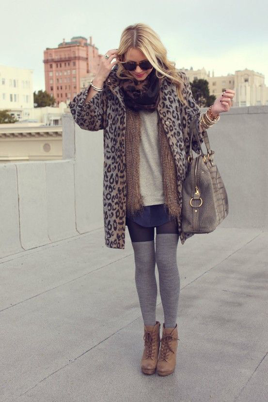 Layering Leggings and Socks