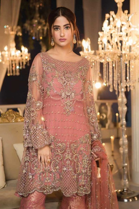 pakistani party wear dresses