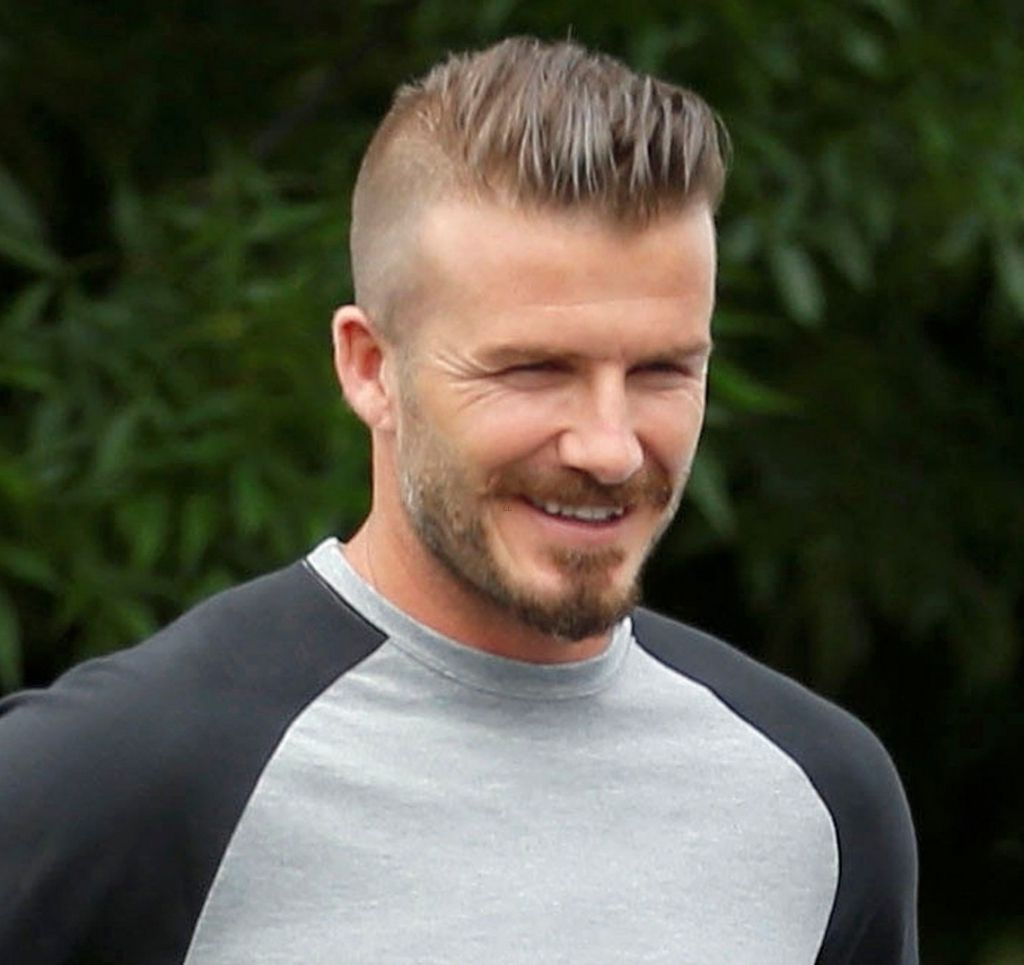 David Beckham Mohawk Hairstyle: