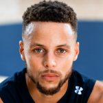 Stephen curry hair color