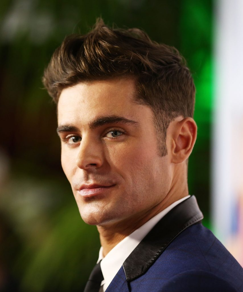 Zac Efron New mullet Haircut