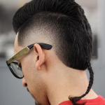 rat tail fade haircut