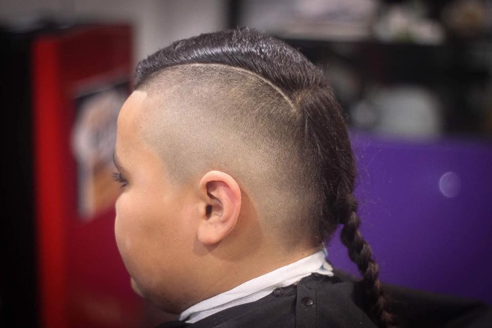 Rat Tail Haircut Fade