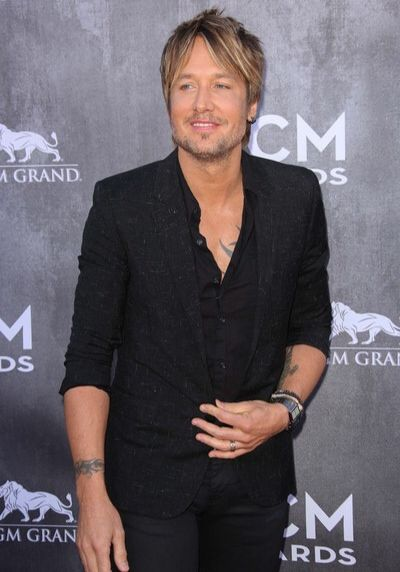Keith Urban Short Hairstyle:
