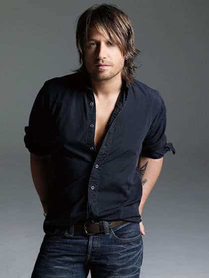 Keith Urban Mid-Length Haircut
