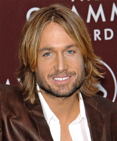 Keith Urban Stright Long Haircut